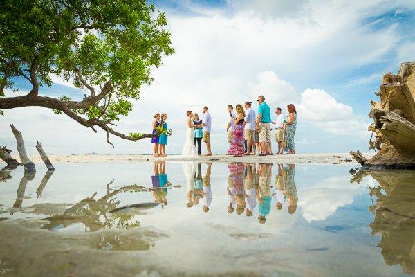 wedding official on Sanibel Island