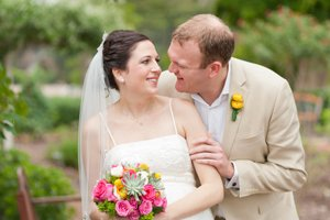 bride and groom at the Westwind Inn Resort