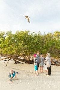 wedding ceremony at Sanibel Island Lighthouse