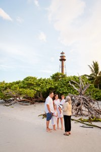 wedding at Sanibel Lighthouse
