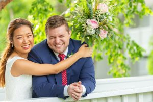Fun wedding photos at Casa Ybel Resort on Sanibel Island