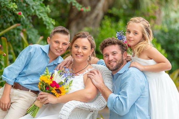 Destination wedding on Sanibel Island