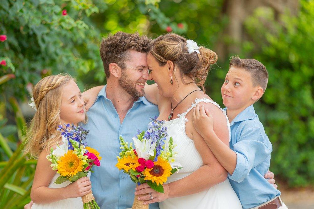 Sanibel Island wedding picture
