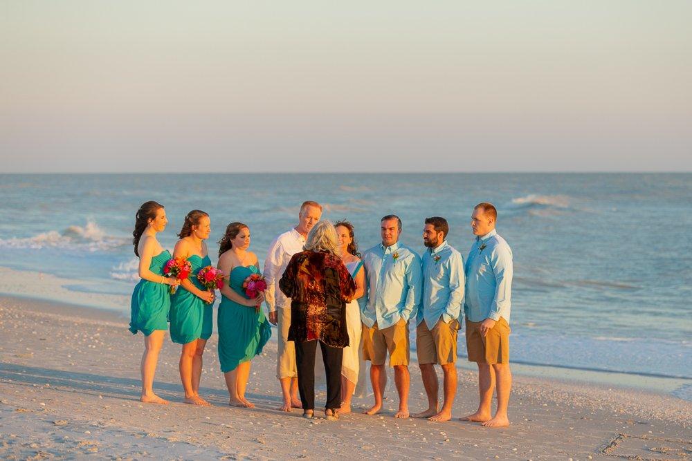 wedding vows on Sanibel