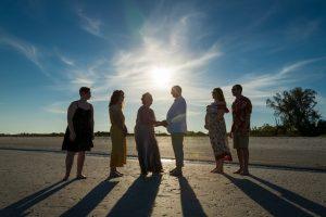 vow renewal ceremony on Sanibel