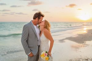 beach elopement photo