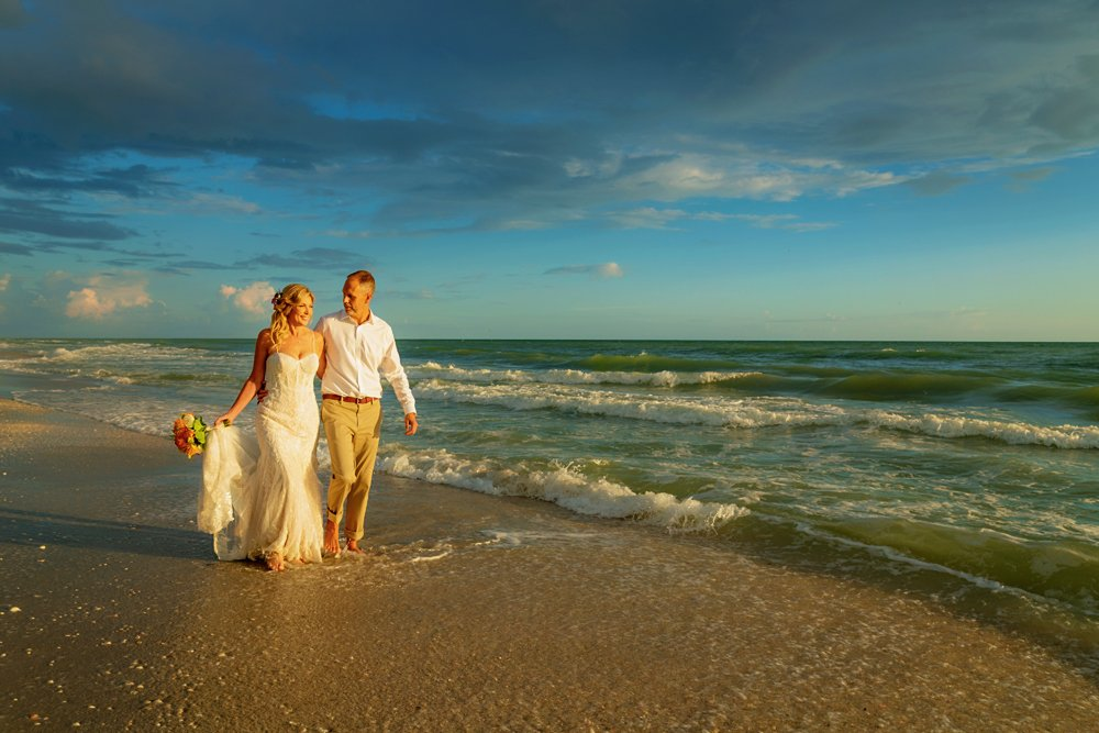 Sanibel beach elopement